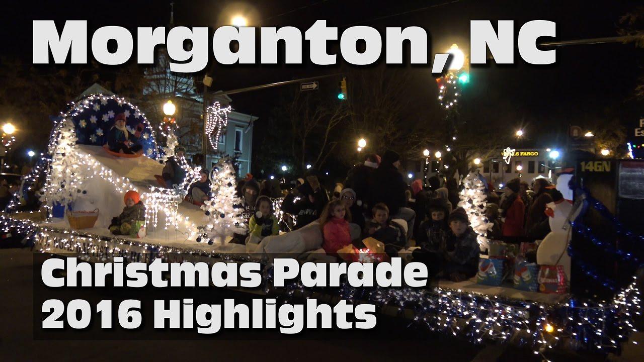 2016 Morganton Christmas Parade Highlights 4k - YouTube