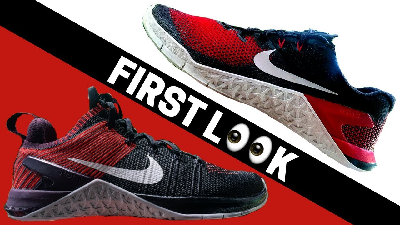 aaec7eba013f9 Nike Metcon 4   DSX Flyknit 2 FIRST LOOK! Garage Gym Reviews