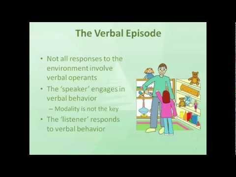 PECS and Skinner's Verbal Behavior