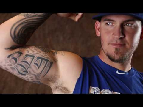 Tattoos tell the story of Dodgers catcher Yasmani Grandal
