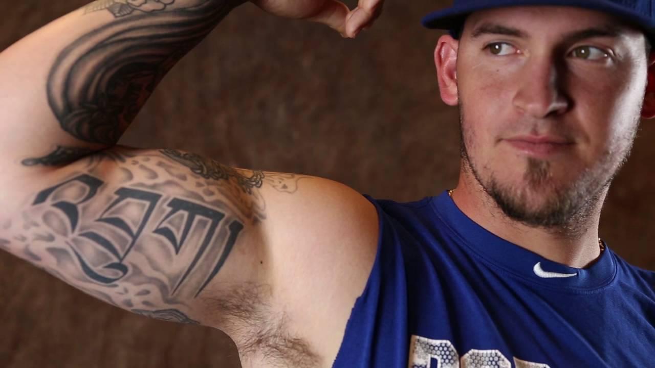 Tattoos tell the story of Dodgers catcher Yasmani Grandal