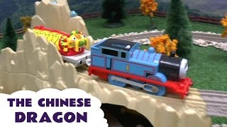Thomas and Friends Light-Up Chinese Dragon Tomy Toy Train on Trackmaster Thomas Y Sus Amigos