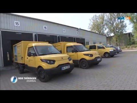 TV Doku: Die Deutsche Post DHL fährt jetzt mit Elektroauto´s - mdr