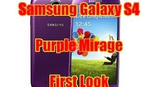 Presentazione Samsung Galaxy S4 Viola (Purple Mirage) GT-i9505 ITA