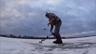 Deeper: Работа эхолота зимой.  Режим подледной ловли.