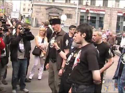 Разгон гейпарада в Петербурге  Как это было