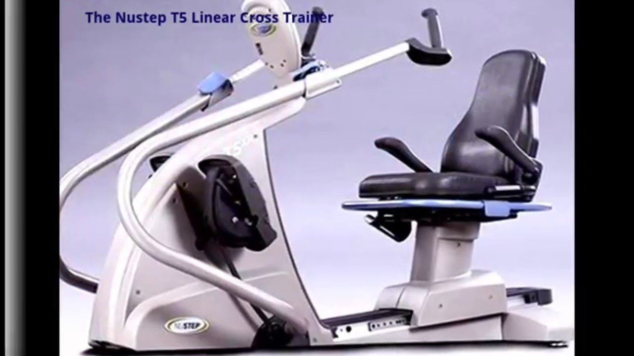 Nustep T5 Linear Crossrtrainer Youtube