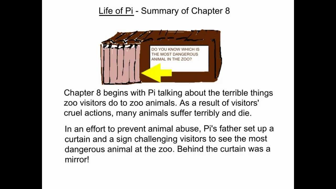 life of pi summary of chapter 8 youtube