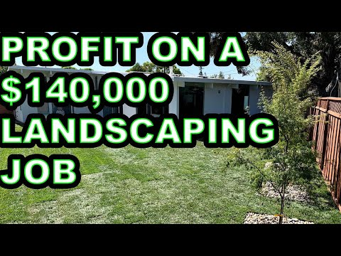How Much Profit On A $140,000 Landscaping Job? (Complete Breakdown)