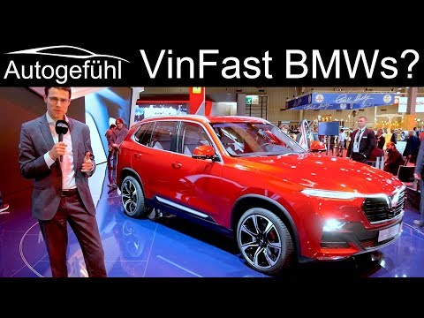 BMW X5 and 5-Series in Vietnamese! VinFast SUV Lux SA 2.0 & Sedan Lux A2.0 REVIEW - Autogefühl