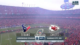 2019-20 NFL on CḂS AFC Divisional Playoffs Intro/Theme (Texans vs Chiefs)