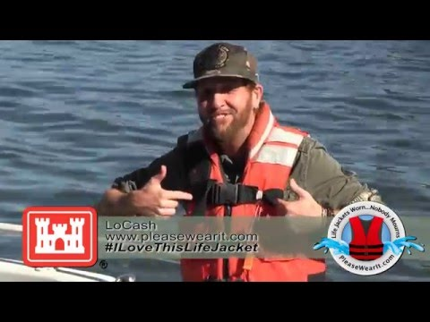 "LoCash ""I love this Life Jacket"""