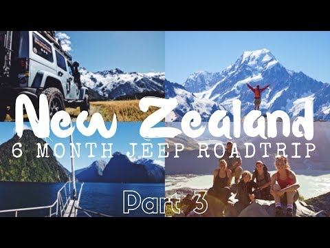 EPIC  6 Month NEW ZEALAND Road Trip Part 3: AORAKI/MT COOK // Episode 15