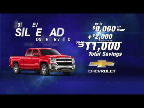 Save BIG on Silverado!