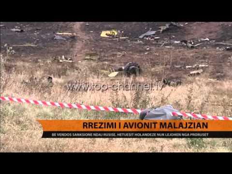 Avioni MH17, hetuesit ende pa akses në vendngjarje - Top Channel Albania - News - Lajme
