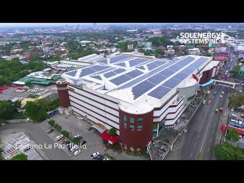 1MW Rooftop Solar at Gaisano Capital Mall La Paz Iloilo