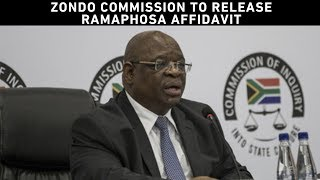 Deputy Chief Justice Raymond Zondo has announced that President Cyril Ramaphosa has submitted an affidavit to the state capture commission of inquiry and has agreed to testify at the commission.