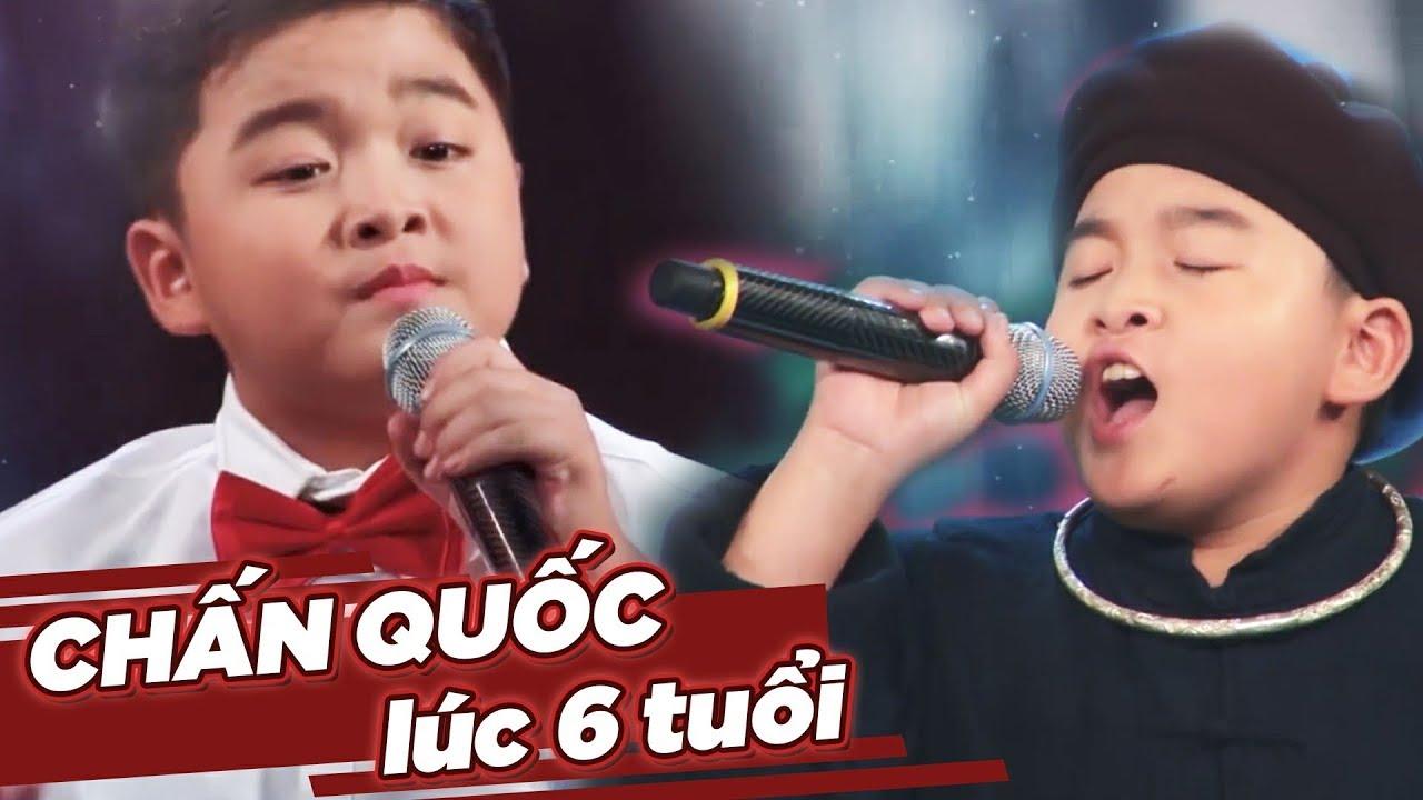 Chấn Quốc 6 tuổi đã từng LÀM MƯA LÀM GIÓ như thế nào khi chưa trở thành Á Quân The Voice Kids