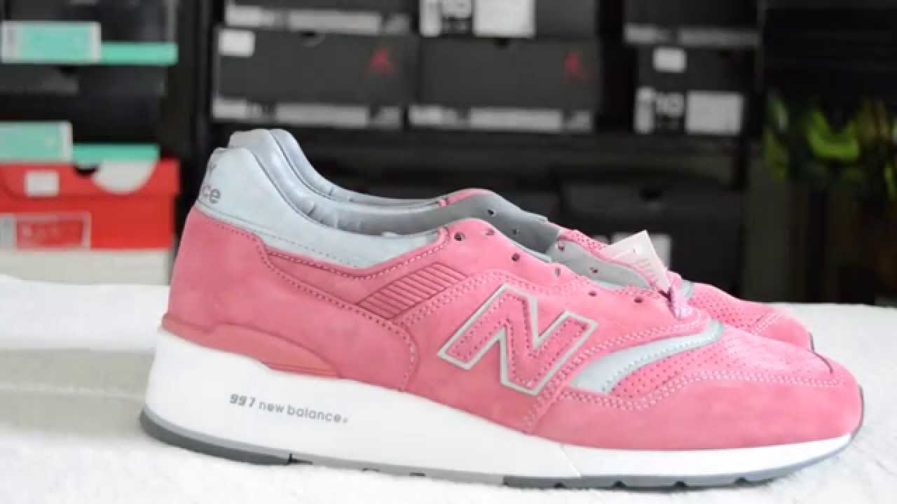 new balance x concepts rose sneaker unboxing best quality of the year youtube. Black Bedroom Furniture Sets. Home Design Ideas