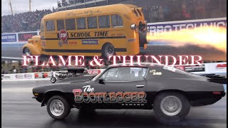 FLAME & THUNDER at SANTA POD RACEWAY PREVIEW VIDEO