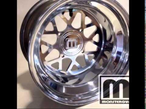 MonsterGY6 Custom Honda Ruckus & Maddog wheels
