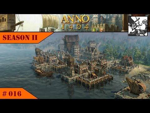 Anno 1404 - Venice: Season II #016 Noble production improvement and harbor works!