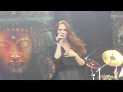 "Epica intro-the second stone live at roma ""Poste Pay Rock""2016"