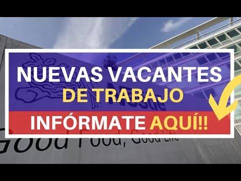 🎯EMPLEO NESTLE 2019   Oferta De Empleo   Busco Trabajo   Ofertas De Trabajo