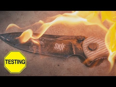 Краш-тест ножа SKIF Adventure...