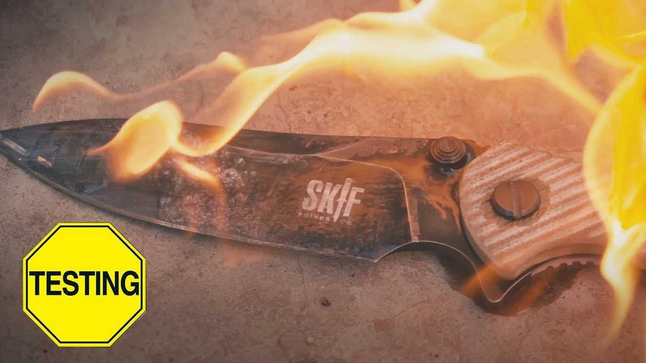 Краш-тест ножа SKIF Adventure 424F