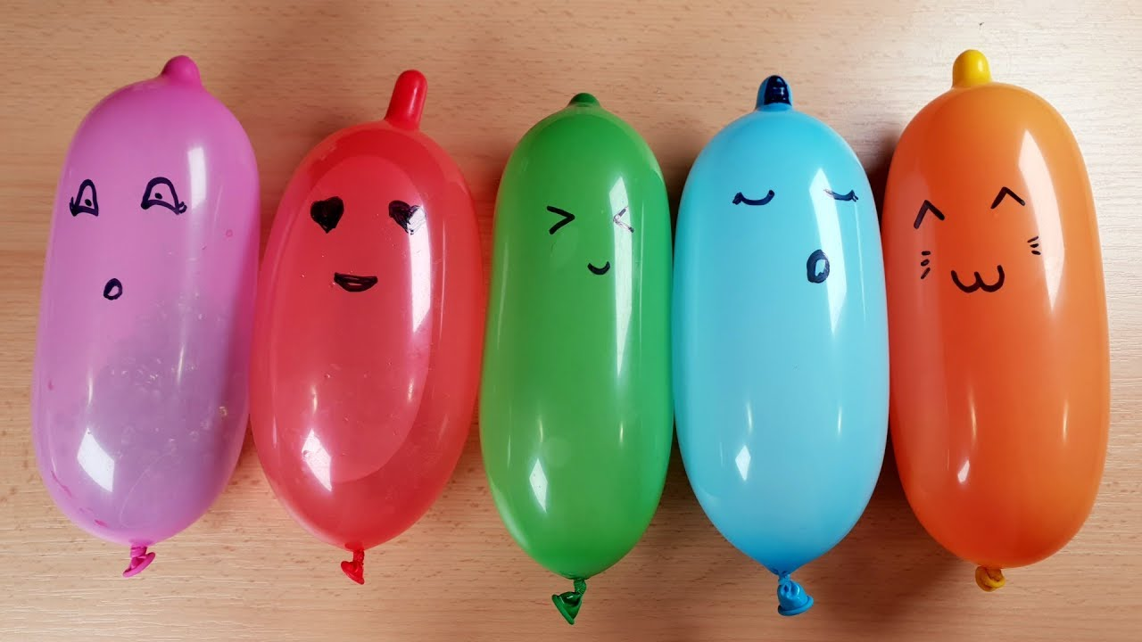 Making Slime with Funny Balloons - Satisfying Slime video