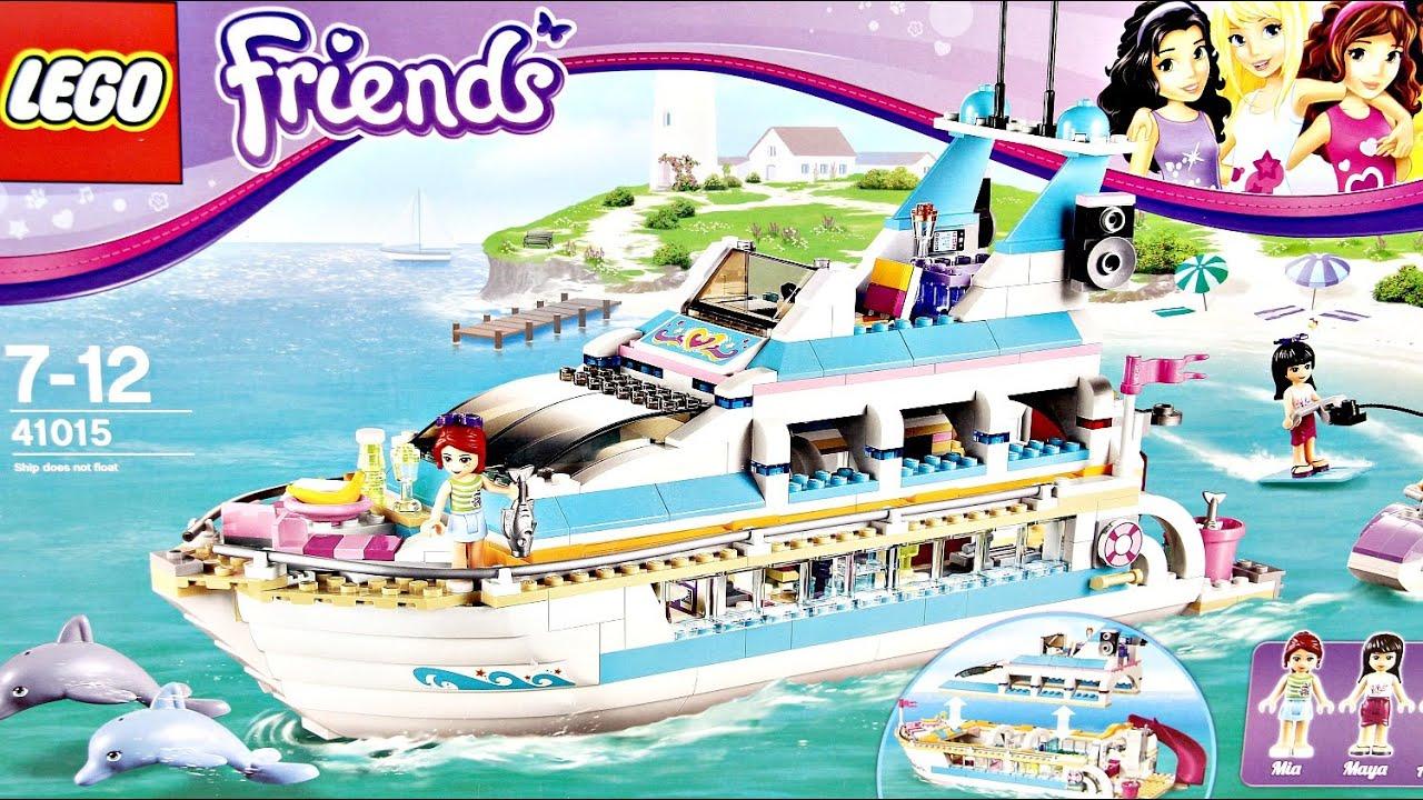 Dolphin Cruiser Jacht 41015 Lego Friends Recenzja Youtube