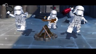 LEGO Star Wars The Force Awakens (PS Vita/3DS/Mobile) Shield Room Approach - Free Play