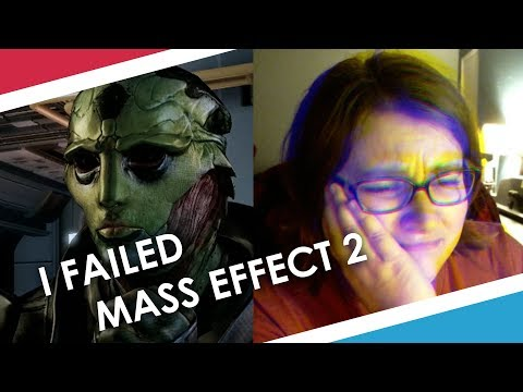 I RUINED THANE'S LIFE - Mass Effect 2 Gameplay (Part 1)