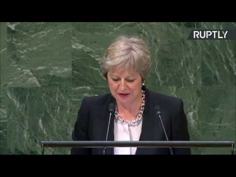 LIVE: Theresa May addresses #UNGA