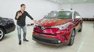 Khám phá chi tiết chiếc Toyota C-HR nhập khẩu