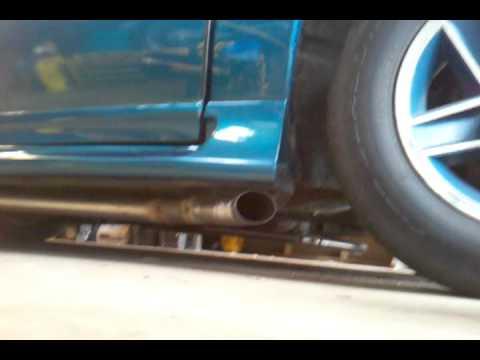 1991 Chevy Camaro with side exit True Dual Borla Exhaust ...