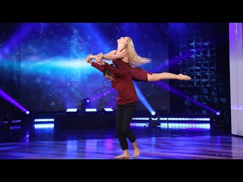 'World of Dance' Finalists Charity & Andres Perform a High-Flying Routine