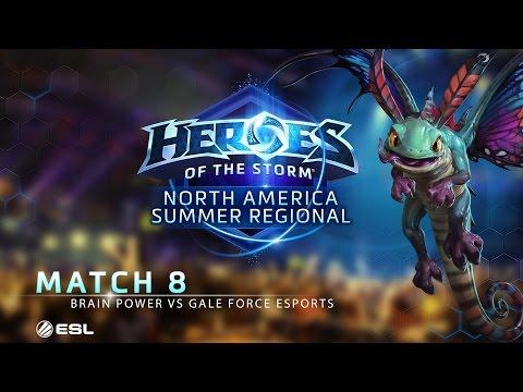 Brain Power vs Gale Force eSports - NA Summer Regional - Match 8 | Group B | Upper Bracket