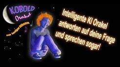 Intelligente KI Orakel antworten und sprechen (Demo Merlin, Kobold Orakel, Baumgeist)