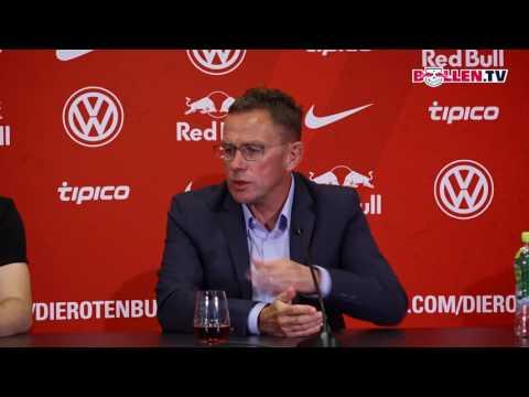 PK mit Neuzugang Jean-Kévin Augustin   RB Leipzig