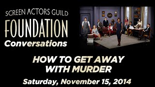 Conversations with HOW TO GET AWAY WITH MURDER