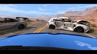 고속도로에서 자동차가 폭발했다?! 블랙박스 사고 빔엔지…
