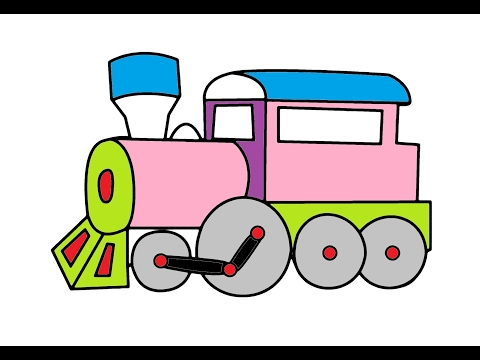 train-video-for-children-coloring-for-kids-magic-dog-a-lot-of-candy