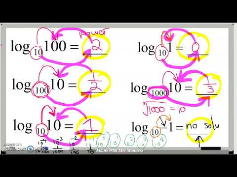 Evaluating Logarithmic Expressions - YouTube