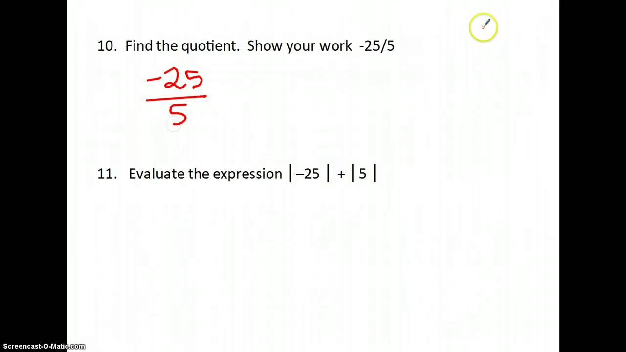 worksheet Pre Algebra Expressions pre algebra test review 1a youtube 1a