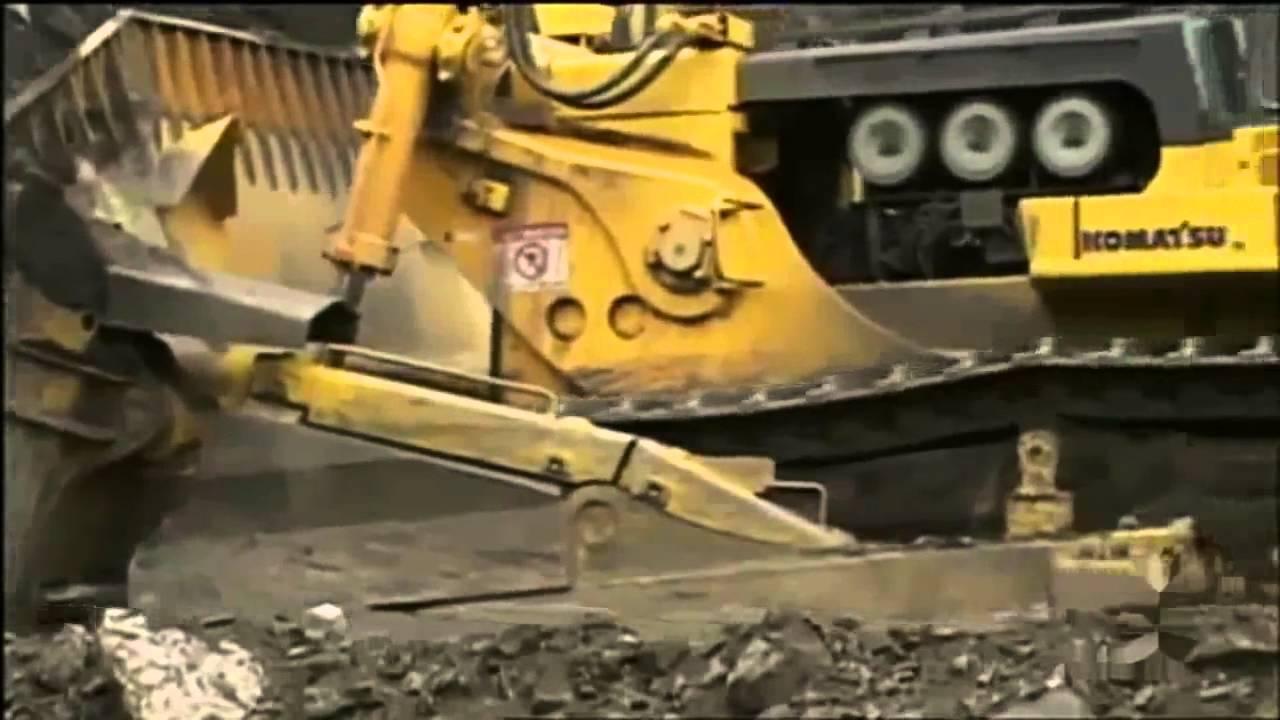 the biggest bulldozer in the world komatsu d575a youtube