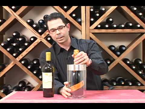 Double Wall Iceless Wine Bottle Chiller Youtube