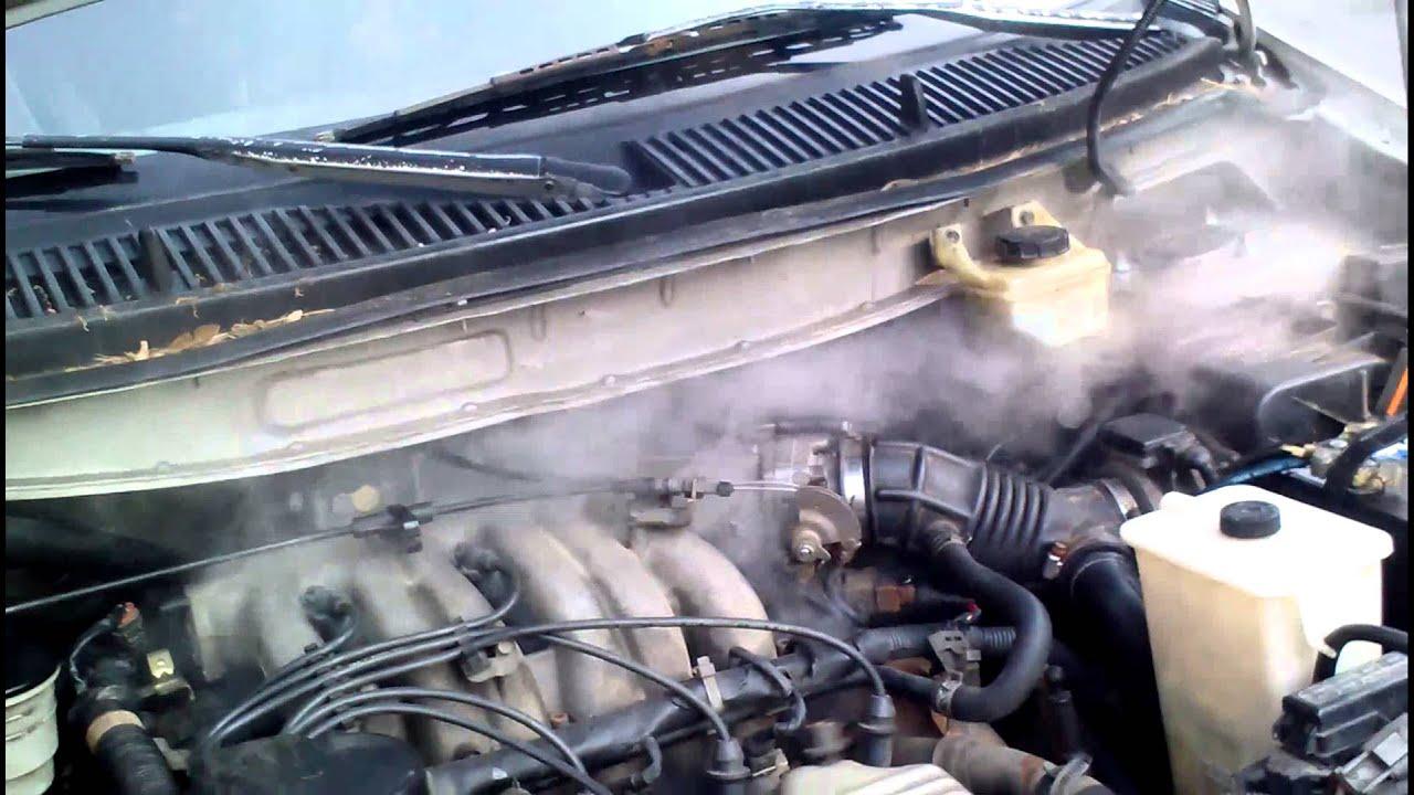 Mercury Villager Exhaust Leak Youtube 1999 Engine Diagram