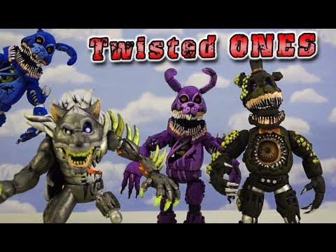 FNAF Twisted Ones TWISTED SET Toy Bootleg Funko Articulated Action Figures Five Nights at Freddys